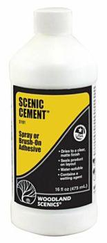 Woodland Scenics S191  Scenic Cement 16 Fl Oz
