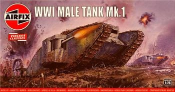 Airfix A01315V  WWI Male Tank Mk.I 1:76