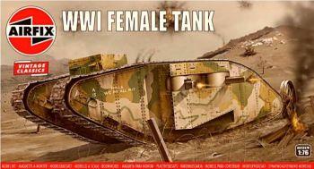 Airfix A02337V  WWI Female Tank 1:76
