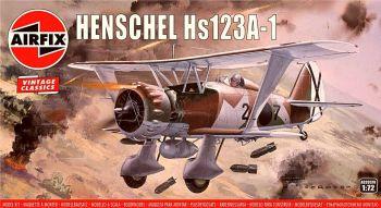 Airfix A02051V  Henschel Hs123A-1 1:76
