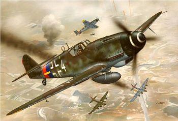 Revell 04160  Messerschmitt Bf 109 G-10 1:72