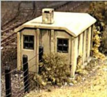 518 Concrete lineside huts