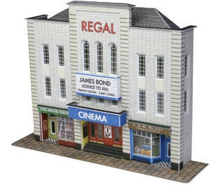 Metcalfe PN170  Low relief Cinema & Shops