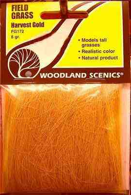 Woodland Scenics FG172  Field grass  (Harvest gold)