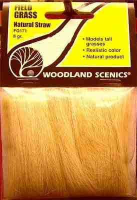 Woodland Scenics FG171  Field grass  (natural straw)