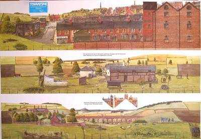 Sheet 6  'Countryside & factory'