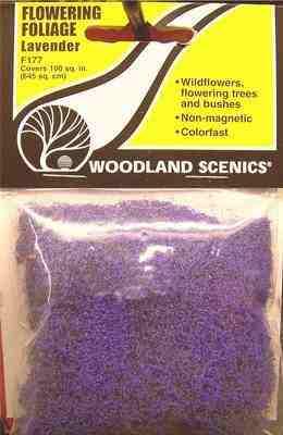 Woodland Scenics F177  Flowering foliage  (Purple)
