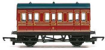 Hornby R4671  LMS 4 wheel coach  (Railroad)