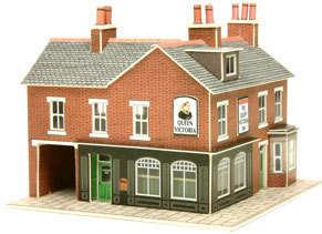Metcalfe PN116  Corner shop & Pub (brick)