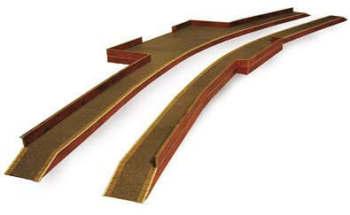 Metcalfe PN110  Brick platform