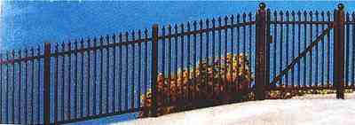 435  GWR Speartop fencing (ramps & gate)