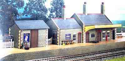 CK17 Stone built station
