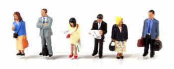 Scenecraft 36044  Standing passengers