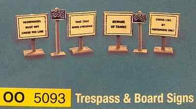 5093  Trespass & board signs