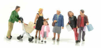 Scenecraft 36-046  Shopping figures