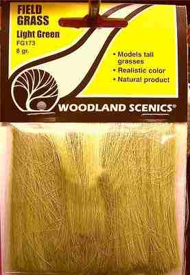 Woodland Scenics FG173  Field grass  (light green)
