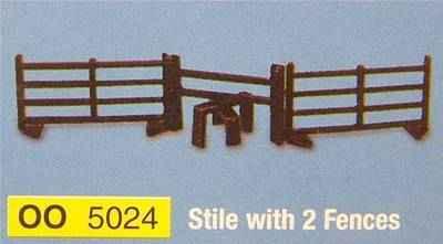 5024  Stile & fences