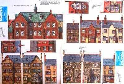 Sheet 8  'Individual buildings'