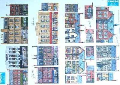 Sheet NE 'Shops & houses'