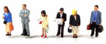 Scenecraft 379304  Station passengers standing
