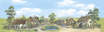 SK15    Village 'O' (large)