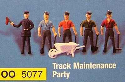 5077  Track maintenance crew