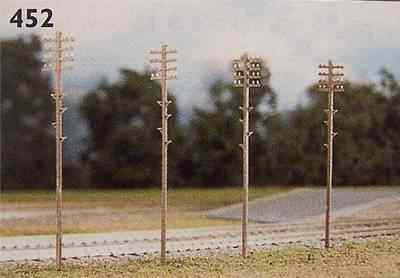 452  Telegraph poles