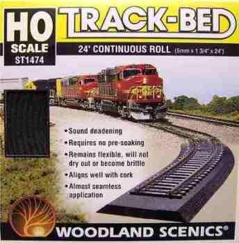 Woodland Scenics ST1474  'OO' Foam trackbed