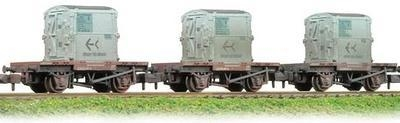 377-335  BR conflat & AF weathered container (set of 3)