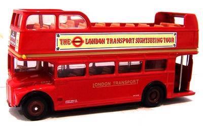 17801-SU  AEC Routemaster Open top tour bus (EFE) 1:76