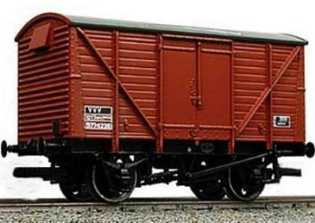 Graham Farish 377628   BR bauxite 12 ton ventilated van (late)