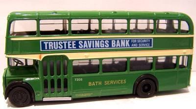14006DL  Bristol F.L.F Lodekka 'Bath Services'  (EFE 1:76)