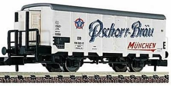 Fleischmann 8350 K  Ghk refrigerated wagon with brakesman cabin 'Pschorr-Bräu' ('N' scale) Epoch III