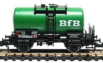 Fleischmann 8419 K   German DB railway tank wagon 'BfB' ('N' scale) Epoch V