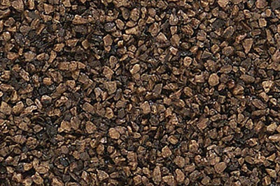Woodland Scenics B78  Medium ballast 'Dark Brown' (OO scale)