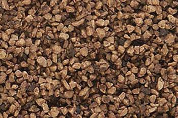 Woodland Scenics B85  Coarse ballast 'Dark Brown' (O scale)