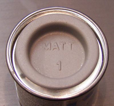 01  Humbrol (Matt) Enamel  Grey Primer AA0014