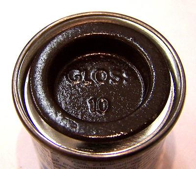 Humbrol 10  (Gloss) Enamel   Service Brown  AA0117
