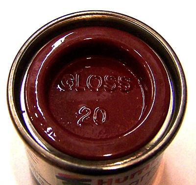 Humbrol 20  (Gloss) Enamel   Crimson AA0223