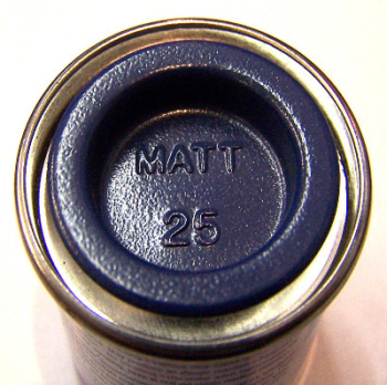 Humbrol 25  (Matt) Enamel   Blue AA0271