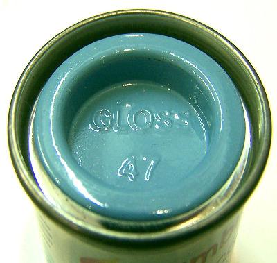 Humbrol 47  (Gloss) Enamel    Sea Blue AA0518