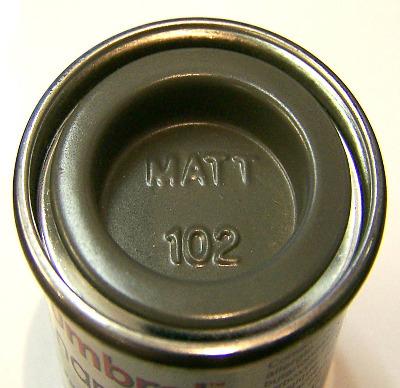 102  Humbrol (matt) Enamel    Army Green AA1122