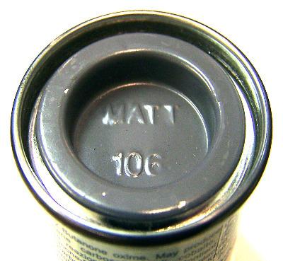 106  Humbrol (matt) Enamel   Ocean Grey AA1170