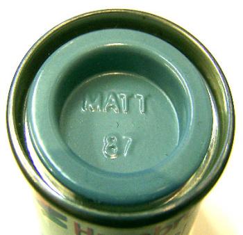 Humbrol 87  (matt) Enamel   Steel Grey AA0967