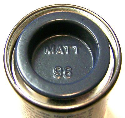 96  Humbrol (matt) Enamel    RAF Blue AA1064
