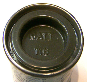 116  Humbrol (matt) Enamel   US Dark green AA1287