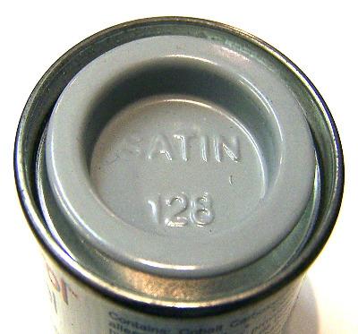 Humbrol 128  (Satin) Enamel    US Compass Grey  AA1417