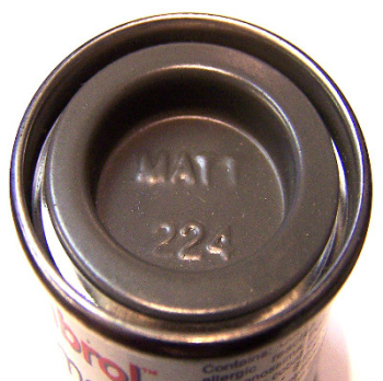 Humbrol 224  (matt) Enamel   Dark Slate Grey AA7224