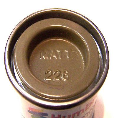 Humbrol 226  (matt) Enamel   Interior Green AA7226