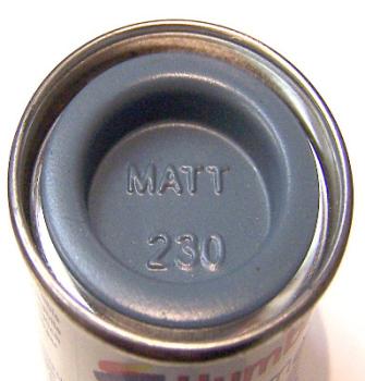 Humbrol 230  (Matt) Enamel   PRU Blue AA1822